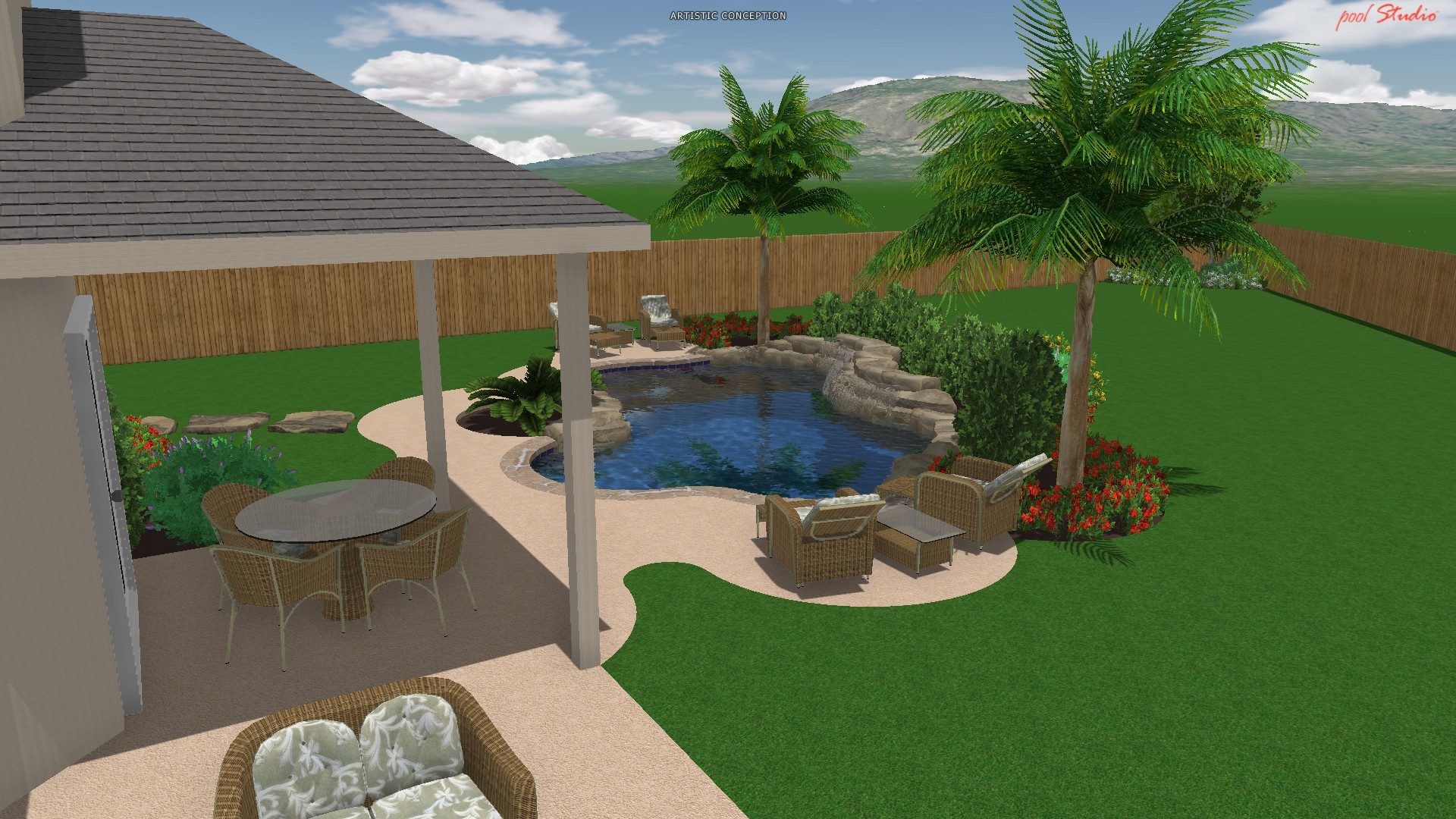 Design by price reliant pools pool builder austin tx for 50000 pool design