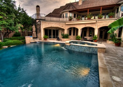 Barton Creek Austin Texa Negative Edge Pool and Spa