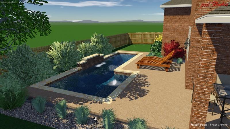 Design By Price Austin Pool Builders Reliant Pools