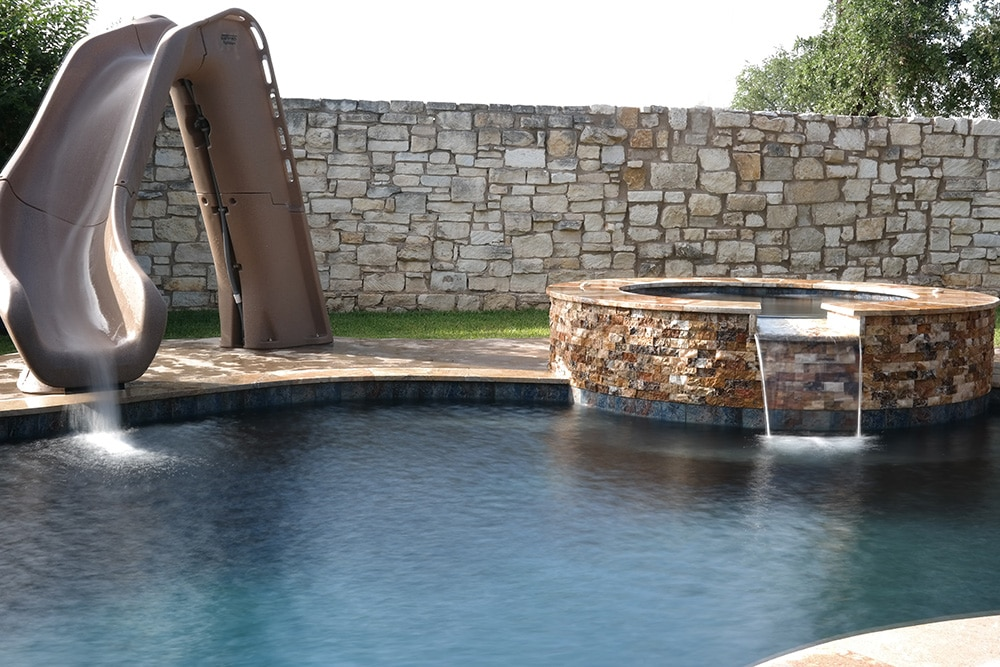 Cedar Park Swimming Pool Spa And Slide 4
