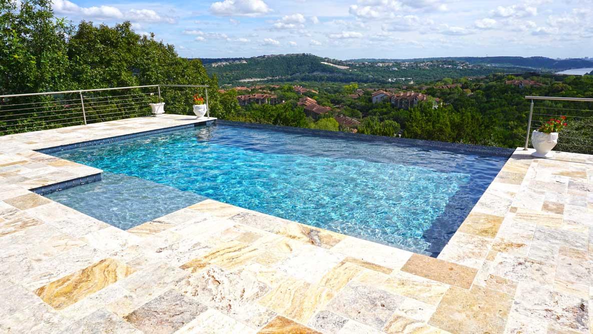 Faux-Negative-Edge-Austin-Swimming-Pool-Builder - Reliant Pools ...
