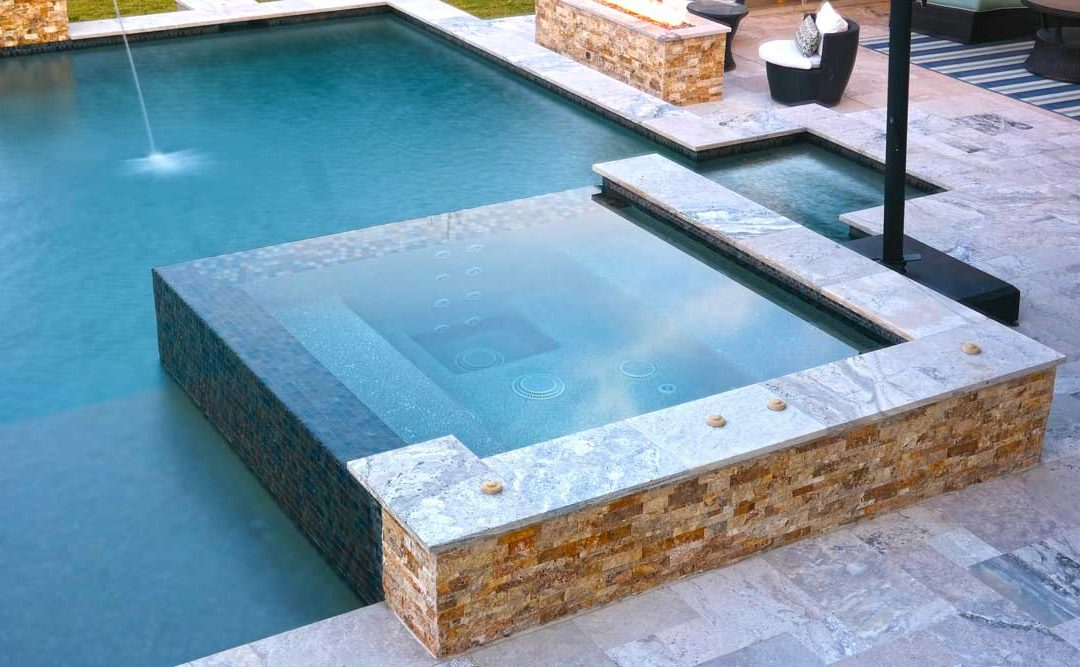 Adding A Spa Or Hot Tub To A Pool Built In Austin