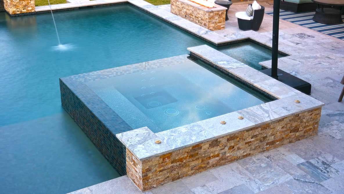Firepit-Square-Spa-Pool-Builder-Austin-TX