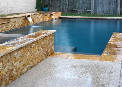Geometic Swimming Pool and Spa in Cedar Park TX 3