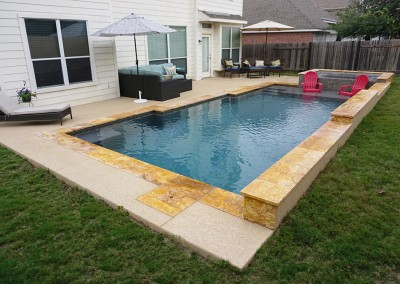 Geometic Swimming Pool and Spa in Cedar Park TX