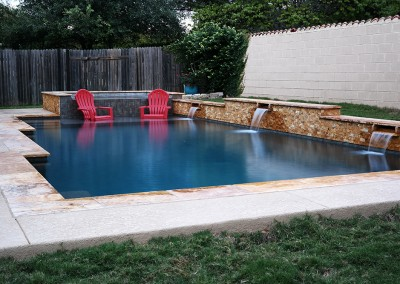 Geometic Swimming Pool and Spa in Cedar Park TX 5