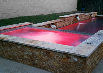 Geometic Swimming Pool and Spa in Cedar Park TX 6