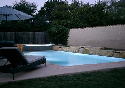 Geometic Swimming Pool and Spa in Cedar Park TX 7