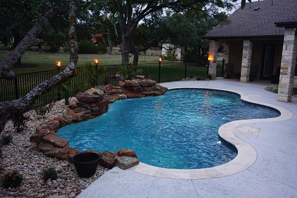 Georgetown Texas Swimming Pool Austin Pool Builders Reliant Pools