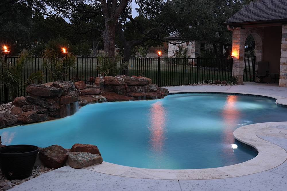 Custom Swimming Pool Water Features That Add Fun And