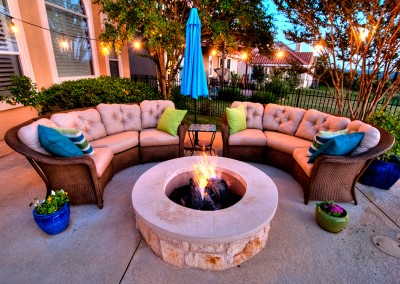Outdoor Firepit Austin Texas