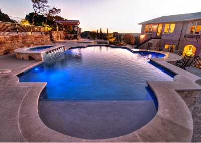 River Place in Austin Texas Swimming Pool Complex 3