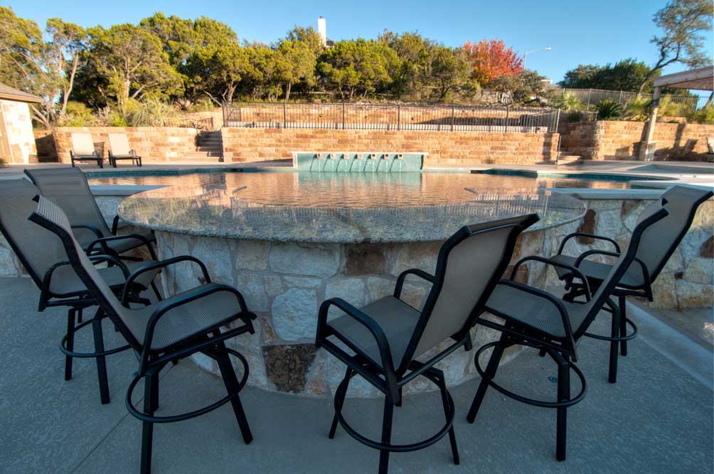 Adding a Pool Bar to Your Austin TX Swimming Pool