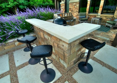 Rob Roy Austin Outdoor Kitchen