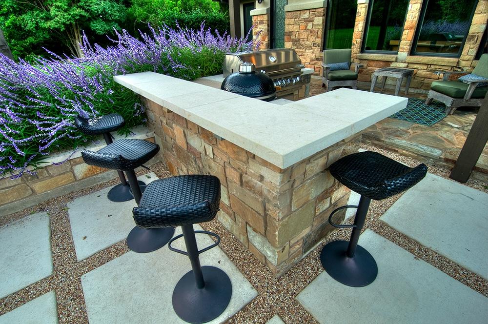 Rob Roy Austin Outdoor Kitchen - Austin Pool Builders ...