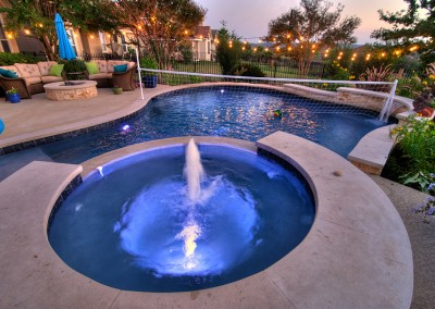 Stiener Ranch Texas Pool Spa Covered Patio 4