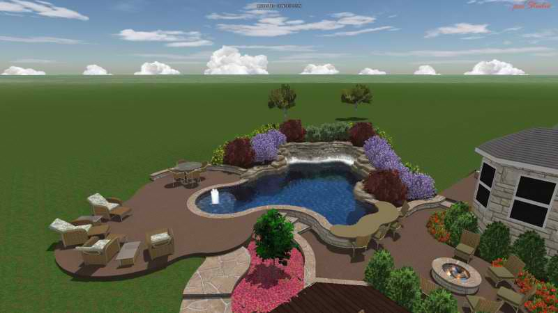 Swimming Pool Builders Round Rock Tx Reliant Pools Austin 39 S Custom Pool Builder Pool