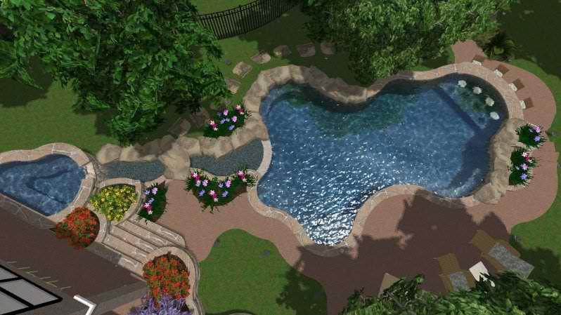Dbh4 reliant pools austin 39 s custom pool builder pool for Pool design austin