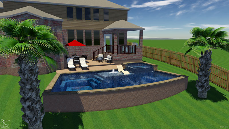 Swimming Pool Shapes To Consider For Your Backyard Reliant Pools Austin 39 S Custom Pool Builder