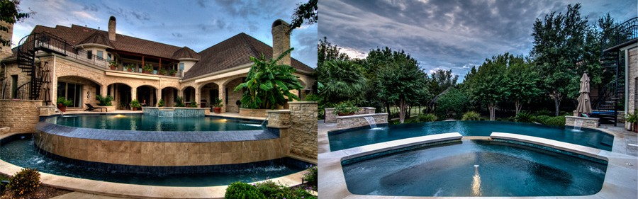 Austin pool builder in Barton Creek