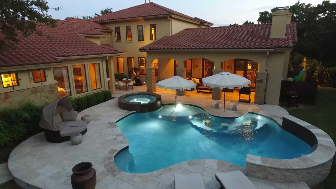 tanning ledge entry swimming pools reliant pools austin u0027s custom