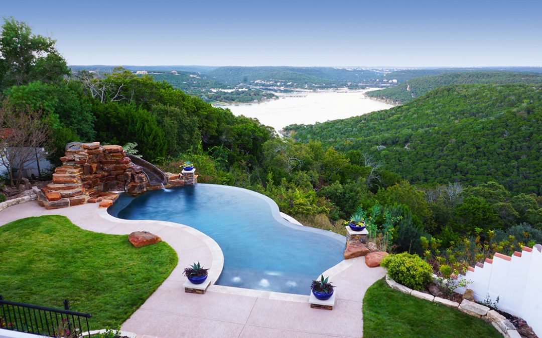Installing A Pool In A Yard Full Of Trees In Austin Tx What You Need To Know Reliant Pools