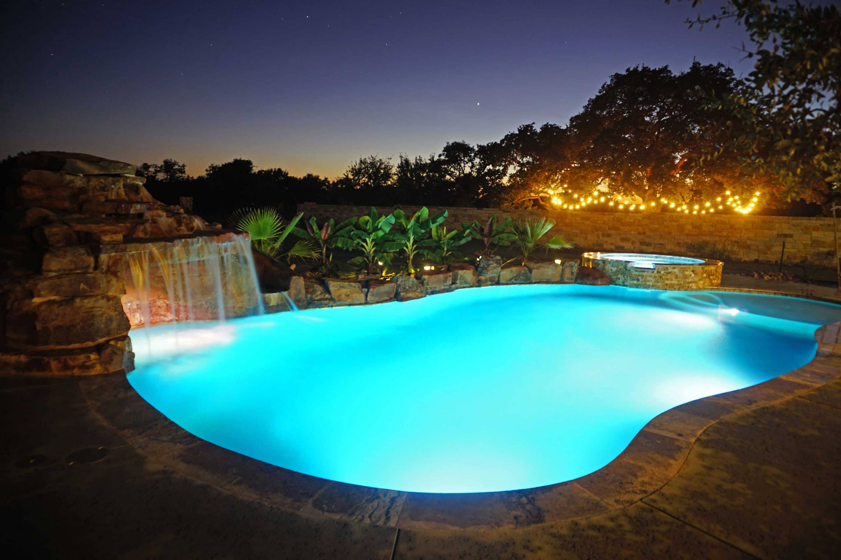 Led Lighting For Your Austin Texas Swimming Pool Reliant Pools Austin 39 S Custom Pool Builder