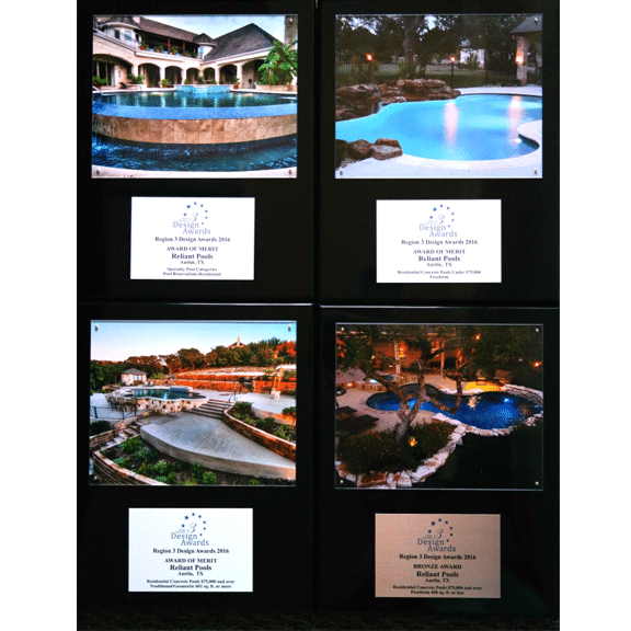 Reliant pools honored during 2016 southwest pool and spa for Pool spa show 2016