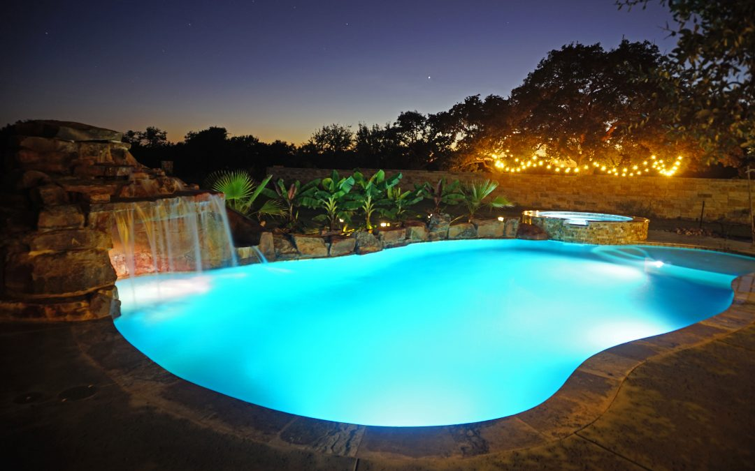 Grotto Waterfall Caves Reliant Pools Austin 39 S Custom Pool Builder Pool Builders Austin Tx